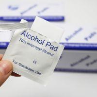 一次性酒精消毒棉片100片盒装
